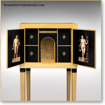 manufacture de luxe meubles et objets d 39 exception cabinets de curiosites. Black Bedroom Furniture Sets. Home Design Ideas