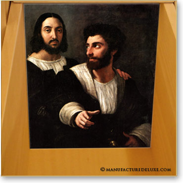 Raphaël et un ami de Raffaello Sanzio