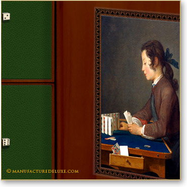 Le château de cartes de J.B Chardin