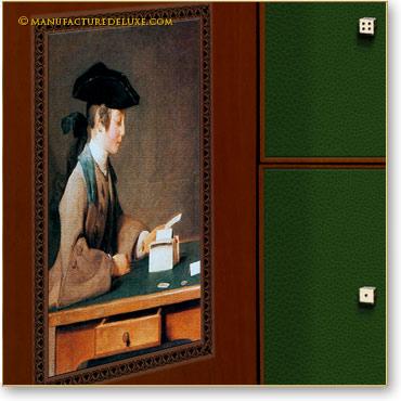 Le château de cartes, J.B Chardin