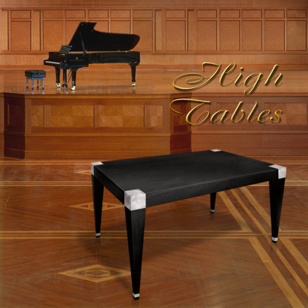 HIGH TABLES. ART, DESIGN AND LUXURY