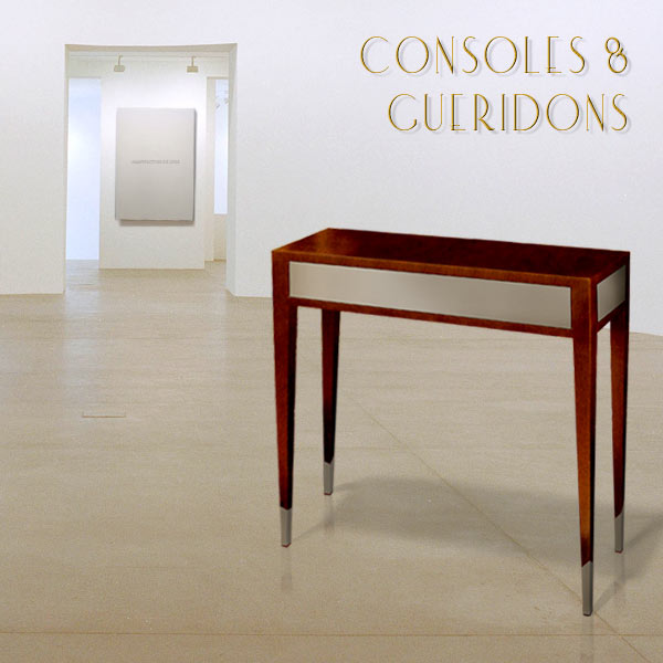 CONSOLES AND GUERIDONS. ART, DESIGN AND LUXURY